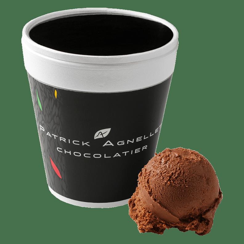 POT DE GLACE CHOCOLAT