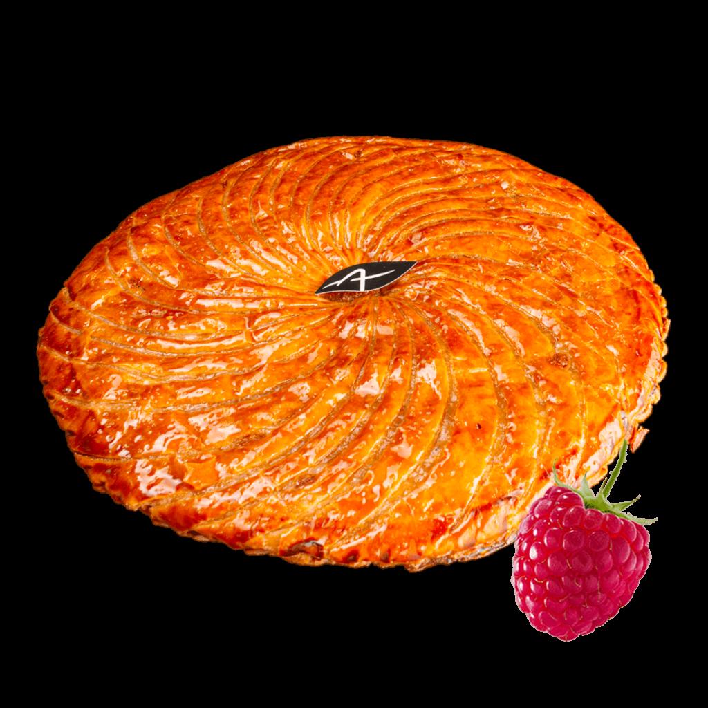 GALETTE FRANGIPANE ET FRAMBOISES